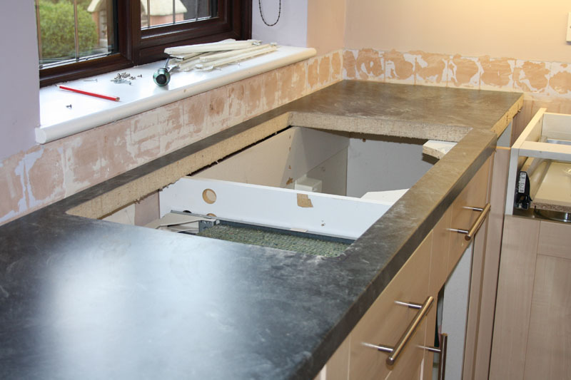 How To Mitre A Kitchen Worktop