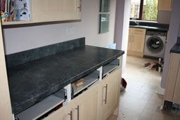 Kitchen Worktop Cutting and Mitering 13