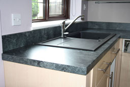 Kitchen Worktop Cutting and Mitering 14